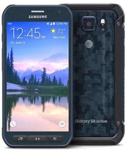 Samsung-Galaxy-S6-Active-SM-G890A-32-Go-Bleu-9-10-Deverrouille-Smartphone-5-1-034