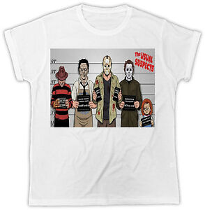 b2ab00ac5db6 Image is loading HORROR-FUNNY-RETRO-MOVIE-THE-USUAL-SUSPECTS-HALLOWEEN-
