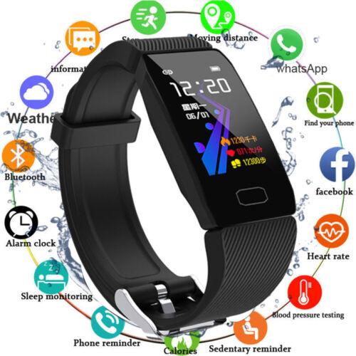Bluetooth Smartwatch Smart Armband Pulsmeser Fitness Tracker Blutdruck Sportuhr