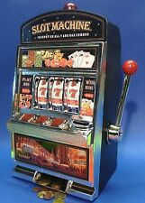SLOTMACHINE Geld-Spielautomat in MAXI-Größe mit realistischer FUNKTION  69-1219