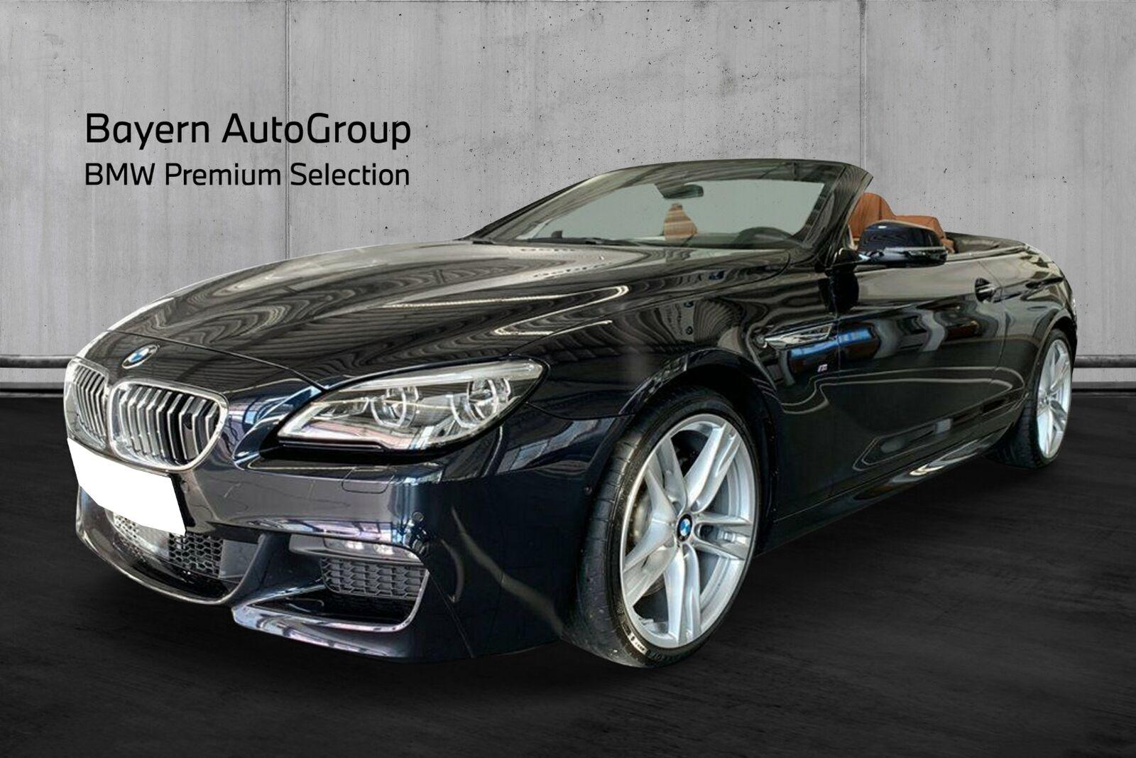 BMW 650i 4,4 Cabriolet xDrive aut. 2d - 5.495 kr.