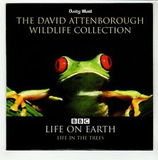 (GO642) David Attenborough, Life In The Trees - Daily Mail DVD