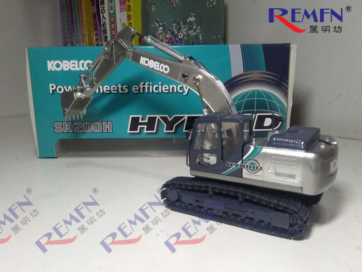 Motorart 1/50 KOBELCO SK210H-10 HYBRID Type Excavators Diecast Model Toy