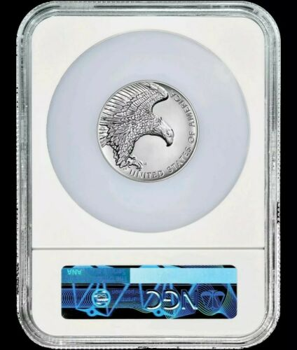 2019 P 2.5 oz Silver Medal High Relief American Liberty NGC SP 69 ER Oversized
