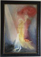 Baron Arild Rosenkrantz Original Oil Painting Hand Signed Dated 1946 Framed