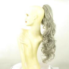 Hairpiece ponytail long wavy gray 25.59 ref 6/51 peruk