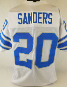 Barry White White Sanders Barry Sanders Sanders White Jersey Jersey Barry