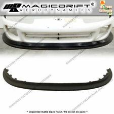 For 97 98 Toyota Supra Mk4 Front Bumper Lip Mda Style Track Flat Splitter Kit Fits Toyota Supra