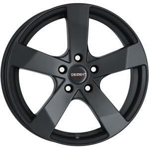 16 inch Dezent TD Dark 5x108 ET48 7J BLACK alloy wheels  Citroen C4 Citroen C4 P