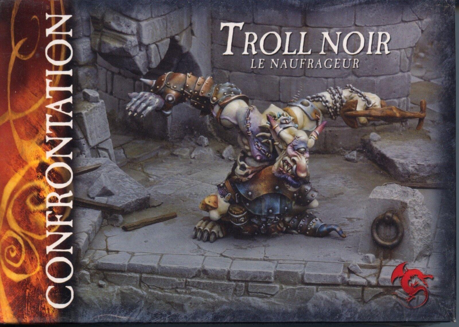 Conflitto Goblin di Nè Dan Kar nero Troll scatolaed Set MINT Metal