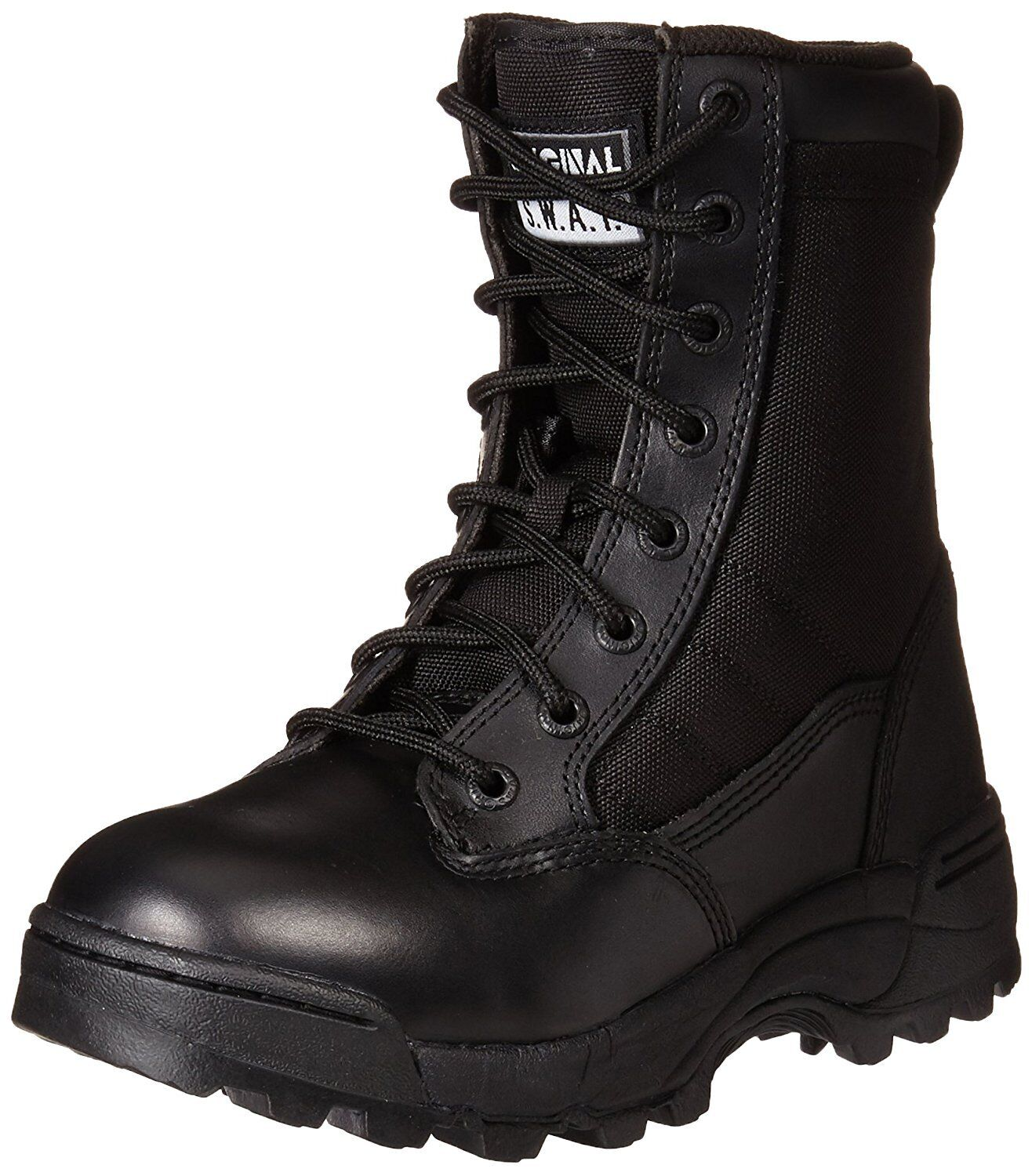 Original S.W.A.T. 115011 Mujeres Clásico 9 in (approx. 22.86 cm) Tactical bota,'s Negro