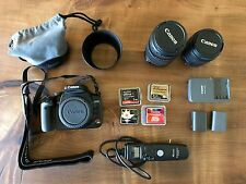 Canon EOS Digital Rebel XTi / EOS 400D 10.1 MP Digital SLR Camera - Black + MORE