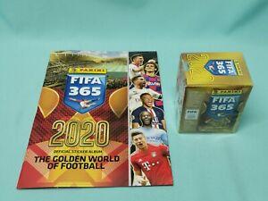 Panini-Fifa-365-2020-Sticker-Sammelalbum-1-x-Display-50-Tueten