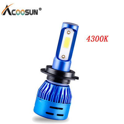 8000LM H7 4300K CREE Car LED Conversion Headlight Bulb Lights 12V Truck Lamp
