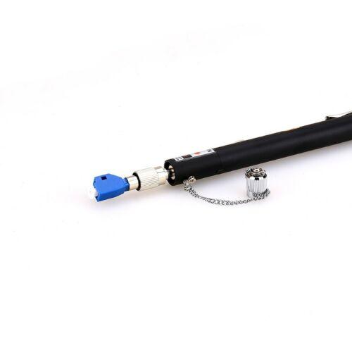 10 mW fibre optique Visual Fault Locator Cable Tester 2.5 Mm Lc//FC//SC//ST Adaptateur