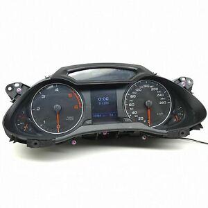 Audi-A4-B8-Diesel-Compteur-Speedo-Ensemble-Instrument-Compteur-Km-H