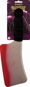 Halloween Sanguinoso Cleaver - 35cm-Accessorio Costume Partito Decorazione  </span>
