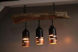 Suspended Driftwood Ceiling Light