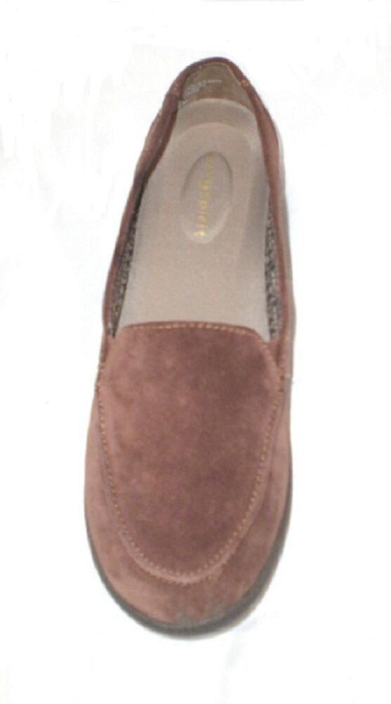 Easy Spirit Spirit Easy Warwick loafer brown suede leather sz 6 Md 8bf0ac