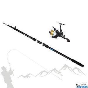 Carp-Fishing-Set-1-Rod-3-60m-2-75lbs-120g-Wg-1-Freewheel-Reel-Aluminium-Line