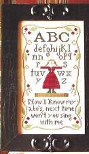 """ALPHABET RHYME"" #66 Cross Stitch Pattern  ~  Little House Needleworks"