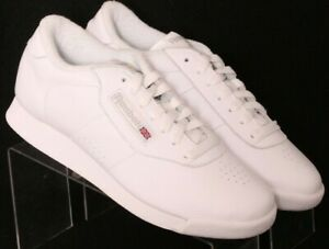 NEW Reebok 103964225 Princess Classics White Casual Shoes Women's US 7.5