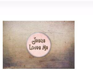 Jesus-Pin-Badge-2-5cm-Jesus-Loves-Me-God-Religion-Gift-Fashion-Christian-Girl