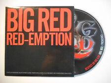 BIG RED : RED-EMPTION / RESPECT OR DIE ♦ CD SINGLE PORT GRATUIT ♦
