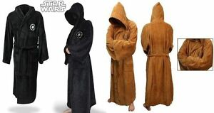Star-Wars-Adult-Brown-Jedi-Black-Sith-Cosplay-Costume-Robe-Bathrobe-Cape-Cloak