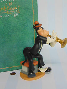 1992-WDCC-Disney-Symphony-Hour-HORACES-HIGH-NOTES-Cow-Horn-FIGURINE-1st-Wheel