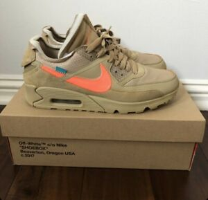 Sneakers premium Nike Air Max 90 x off white (Desert ore