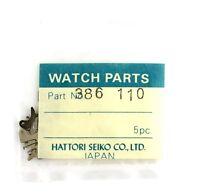 Old Stock Seiko 11a 5 Set Lever Bridges Watch Part 386110