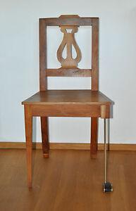 GOLFCHAIR-UNIKAT-Golfstuhl-Golf-Chair-Stuhl-Biedermeier-Kirsche-Komperdell-Holz