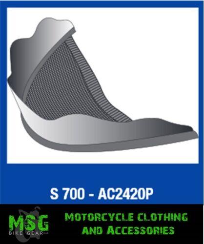 remplacement grande s900 menton moto de de de Ac2420p Couverture casque de de S700 requin UxEWTwq51X