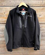 Columbia Omni-Wind Block Soft Shell Fleece Jacket Size Medium
