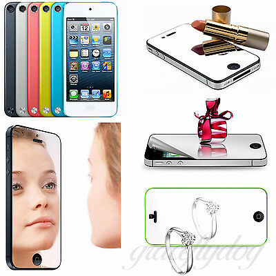 New Front Film Mirror LCD Screen Protector Cover for iPhone 4 4s 5 5s 6 6 plus