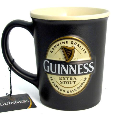 Guinness Large Ceramic Mug Logo Design 2597