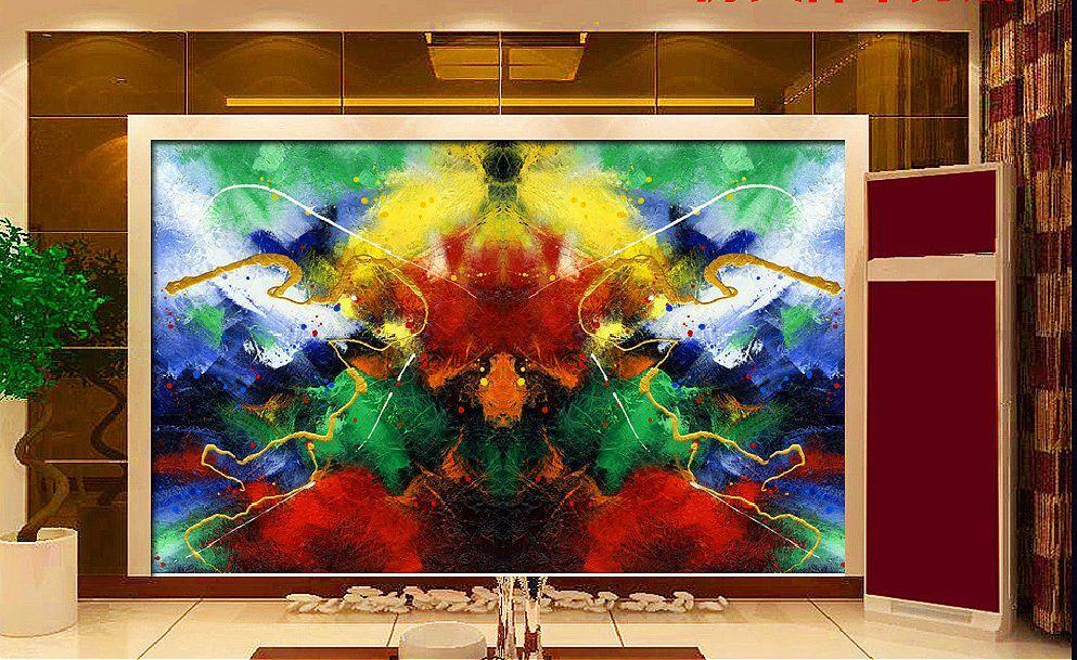 3D Graffiti 111 Parete Murale Foto Carta da parati immagine sfondo muro stampa