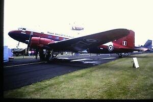 4-349-McDonnell-Douglas-C-47-Dakota-Royal-Air-Force-ZA947-Kodachrome-SLIDE