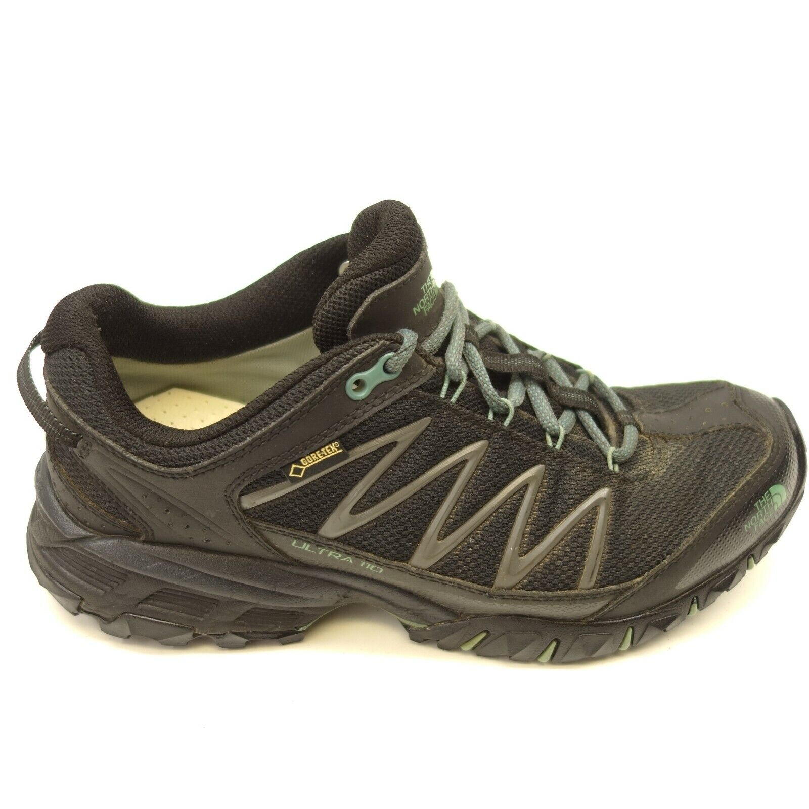 The North Face Ultra 110 GTX Sz 9 Athlétique Maille Trail-Running