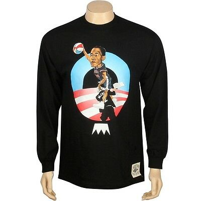 Clothing, Shoes & Accessories Undercrown President Barack Obama Usa Rise Above Black Sweater Shirt Activewear