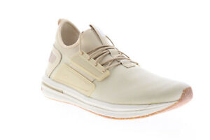 Puma-Ignite-Limitless-Street-Runner-Nature-Mens-Beige-Tan-Low-Top-Shoes-14