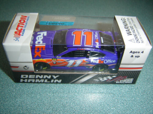 NEW 2018 Denny Hamlin #11 FED EX OFFICE TOYOTA CAMRY 1//64 Diecast IN STOCK