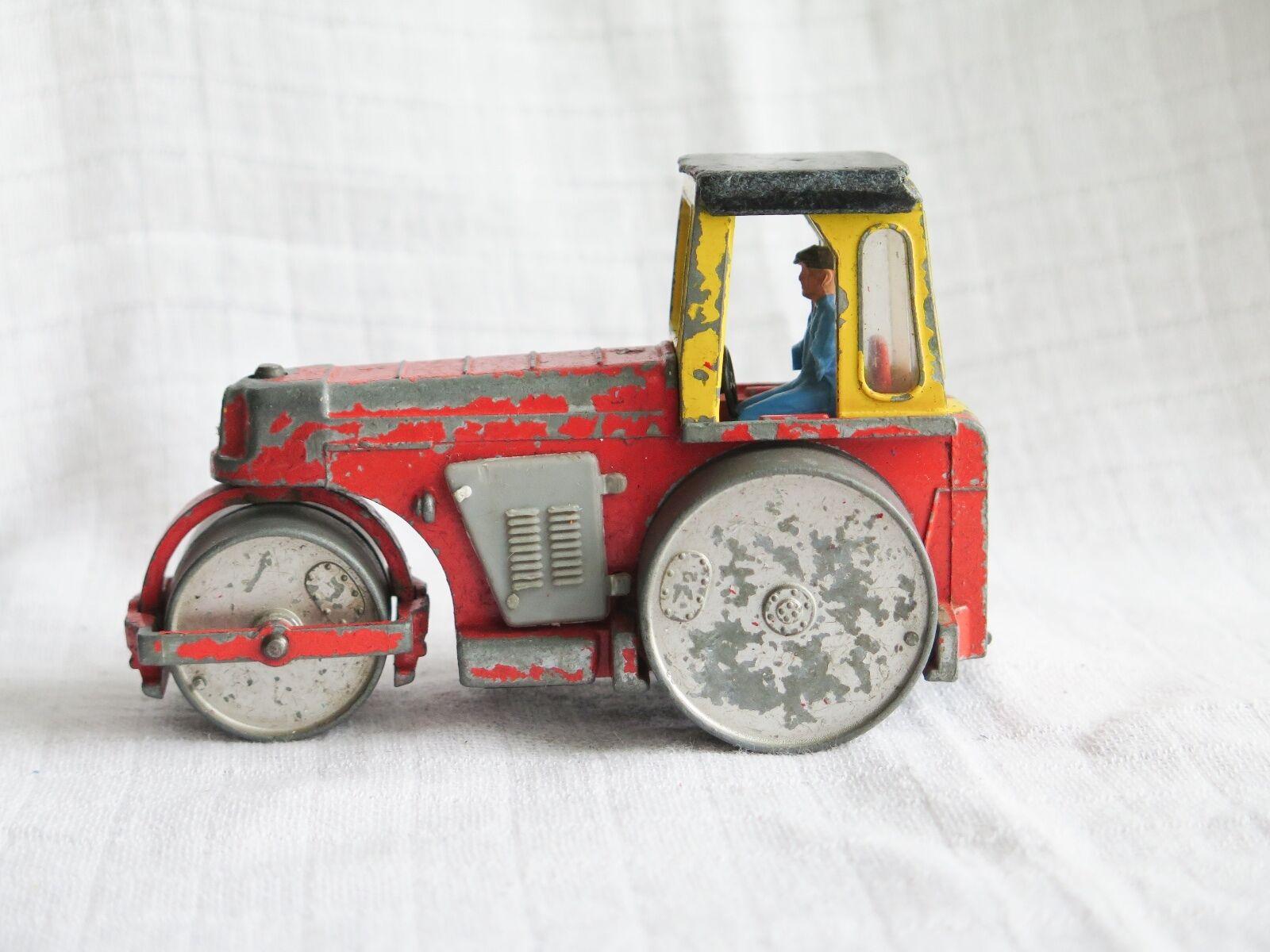 Rara Vintage Dinky Juguetes   279 Aveling Barford 'Master Pavimentador' Rodillo Diesel