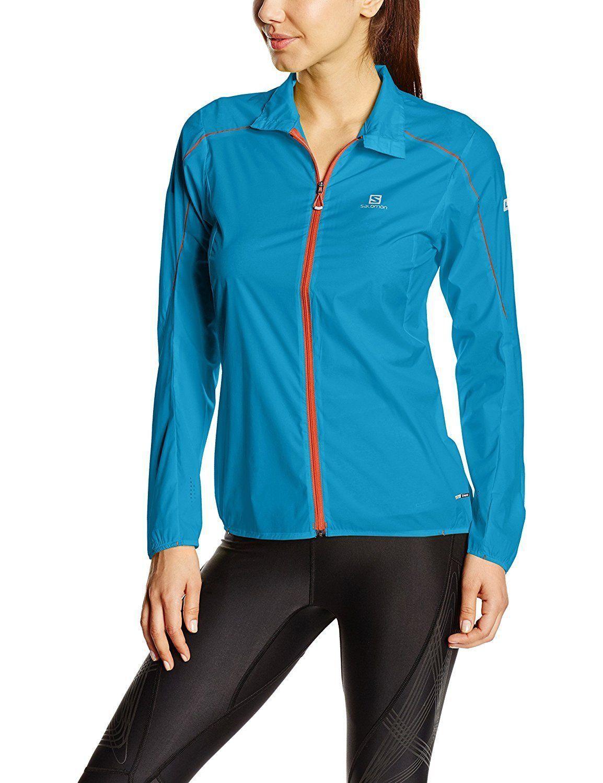 Nuevo Salomon S-Lab Luz Trail Running Jacket (mujeres, metil Azul, Grande)  150