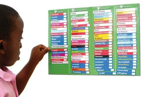 Ligue de Football tableau magnétique graphique d/'activités par Fiesta Crafts