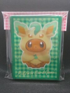 Pokemon-Center-Japan-Eevee-Poncho-Leafeon-Kartenstapel-Shields-64-Armel