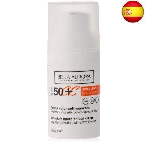 Crema Antimanchas Cc Cream Bella Aurora Tono Claro Compra Online En Ebay