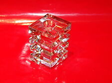Riedel Crystal Candle Holder Diamond Cut
