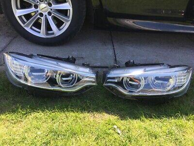 Bmw 4 Series Full Led Adaptive Headlights Complete M4 F82 F32 F33 F36 Rhd Oem Ebay